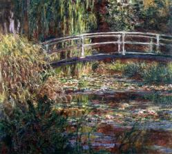 Claude Monet. Bassins aux nymphéas, harmonie rose (1900)