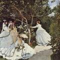 Claude Monet. Femmes au jardin (1866)