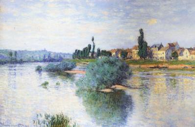 Claude Monet. Lavacourt (1880)