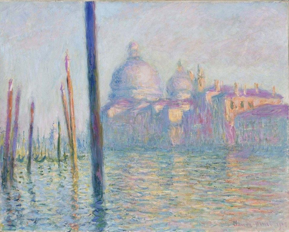 Claude Monet. Le Grand canal à Venise (1908)