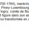 Le Maréchal de Luxembourg