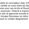 Diderot et Rousseau