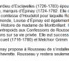 Louise d'Epinay