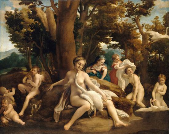Corrège. Léda avec le cygne (1531-32)