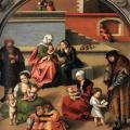 Cranach l'Ancien. La Sainte Parenté (1510-1512)