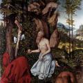 Cranach l'Ancien. Saint Jérôme dans le désert (v. 1525)