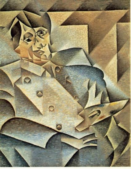 Juan Gris. Portrait de Picasso (1912)