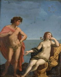 Ecole italienne, d'après Guido Reni. Bacchus et Ariane (v. 1800)