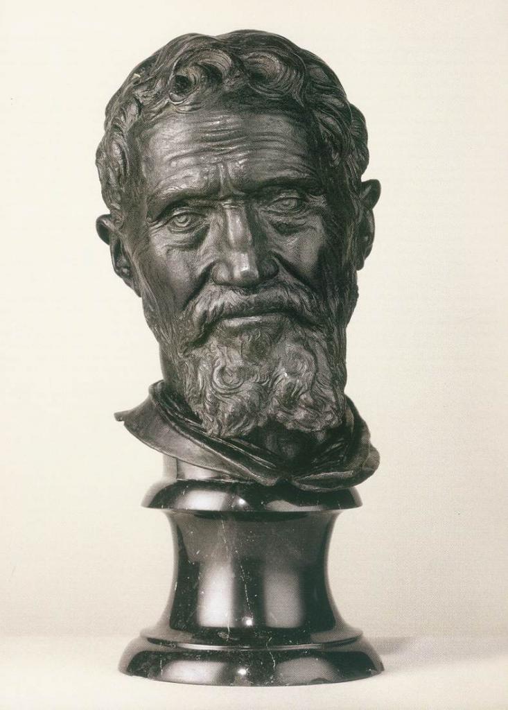 Buste De Michel Ange 1564 1566
