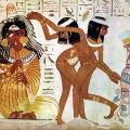 Danseuses et flûtistes (1400-1350 av. J.-C.)