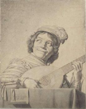 David Bailly. Le joueur de luth (1626)