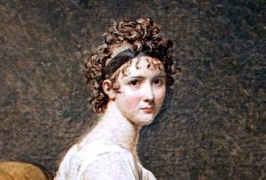 Jacques-Louis David. Madame Récamier, détail