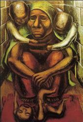 David Siqueiros. Mère prolétarienne (1929)