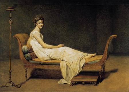 David. Madame Récamier (1800)