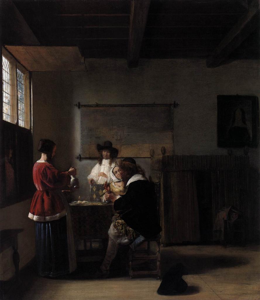 Biographie Et œuvre De Pieter De Hooch (1629-1684