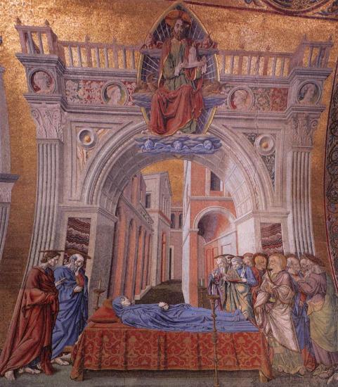 Del Castagno. La mort de la Vierge (1442-43)