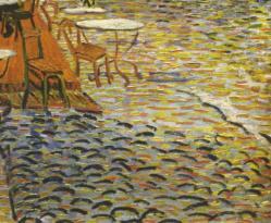 Détail, le pavé éclairé (1888)