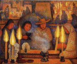 Diego Rivera. Le jour des morts (1944)