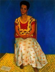 Diego Rivera. Portrait de Cuca Bustamante (1946)