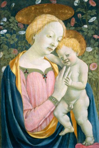 Domenico Veneziano. Vierge à l'Enfant (v. 1445-50)