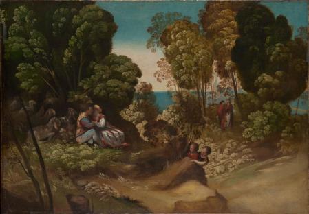 Dosso Dossi. Les trois âges de l'homme (1518-20)