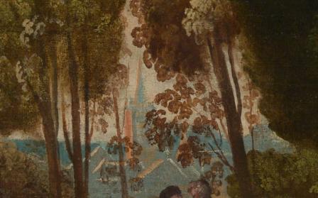 Dosso Dossi. Les trois âges de l'homme, détail (1518-20)