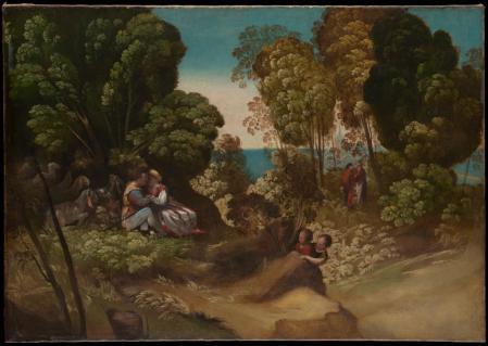 Dosso Dossi. Les trois âges de la vie (1518-20)