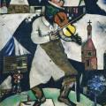 Chagall. Le Violoniste, 1912