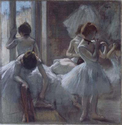Edgar Degas. Danseuses (1884-85)