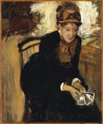 Edgar Degas. Mary Cassatt (1880-84)