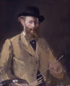 Edouard Manet. Autoportrait à la palette (1879)