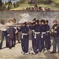 Édouard Manet. L'exécution de Maximilien (1868)