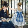 Édouard Manet. Le chemin de fer (1873)