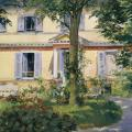 Édouard Manet. Maison de campagne à Rueil (1882)
