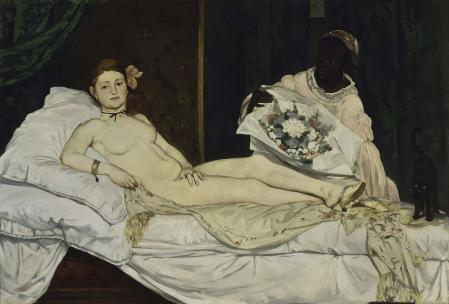 Edouard Manet. Olympia (1863)