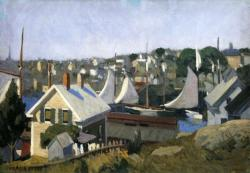 Edward Hopper. Gloucester Harbour (1912)