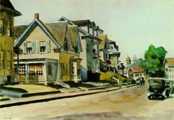 Edward Hopper, Prospect Street, Gloucester (1928)