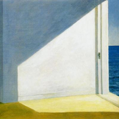 Edward Hopper. Rooms by the sea (1951)