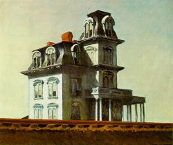 Edward Hopper. The House by the Railroad (1925)