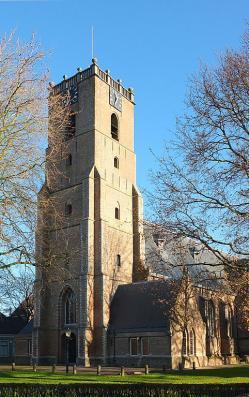 Eglise de Middelharnis aujourd'hui