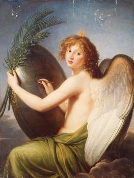 Élisabeth Vigée Le Brun. Le génie d'Alexandre (1814)