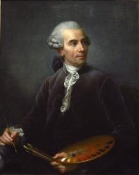 Élisabeth Vigée Le Brun. Portrait de Joseph Vernet (1778)