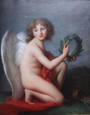 Élisabeth Vigée Le Brun. Le prince Henryk Lubomirski en Amour de la gloire (1787-88)