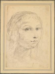 Elisabetta Sirani. Autoportrait (1650-55)