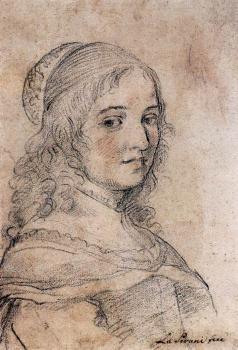 Elisabetta Sirani. Autoportrait (v. 1660)