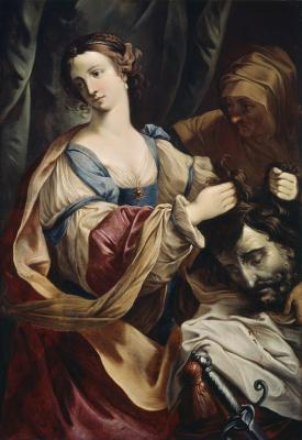 Elisabetta Sirani. Judith tenant la tête d'Holopherne (1655-65)