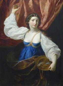 Elisabetta Sirani. La libéralité (v. 1657)