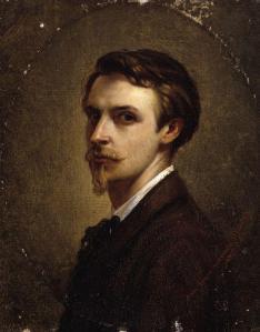 Émile Claus. Autoportrait (1874)