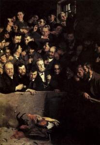 Émile Claus. Combat de coqs en Flandre (1882)