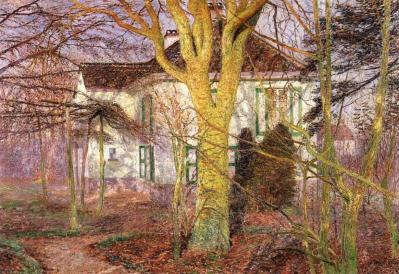 Émile Claus. Rayon de soleil (1899)